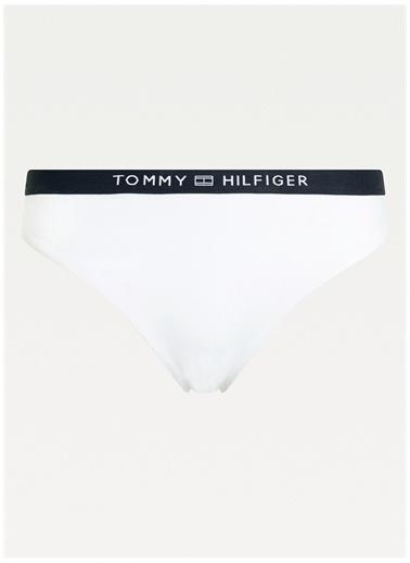 Tommy Hilfiger Tommy Hilfiger Bikini Alt Beyaz